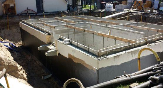 kelder bouwen of storten betonkelder in barneveld met aannemersbedrijf Wielink