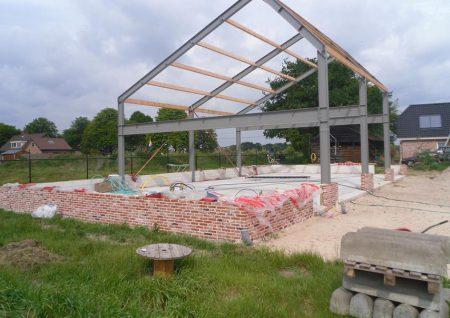 agrischebouw in barneveld door bouwbedrijf Wielink