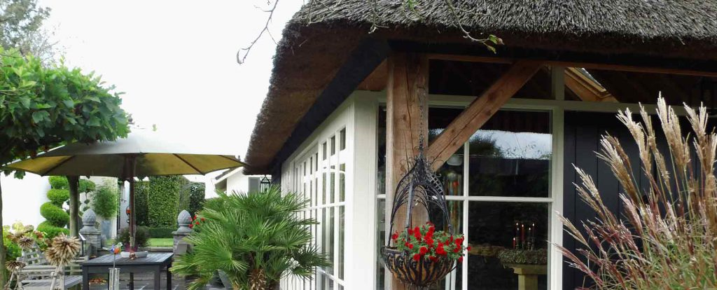 """Bed & breakfast """"Onder de Kappe"""" in Oosterwolde (gem. Oldebroek) gebouwd door aannemersbedrijf Wielink uit Doornspijk"""