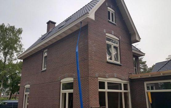 bouw van herenhuis in ermelo door aannemersbedrijf Wielink