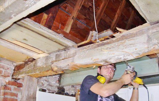 restauratie van woning door aannemersbedrijf wielink