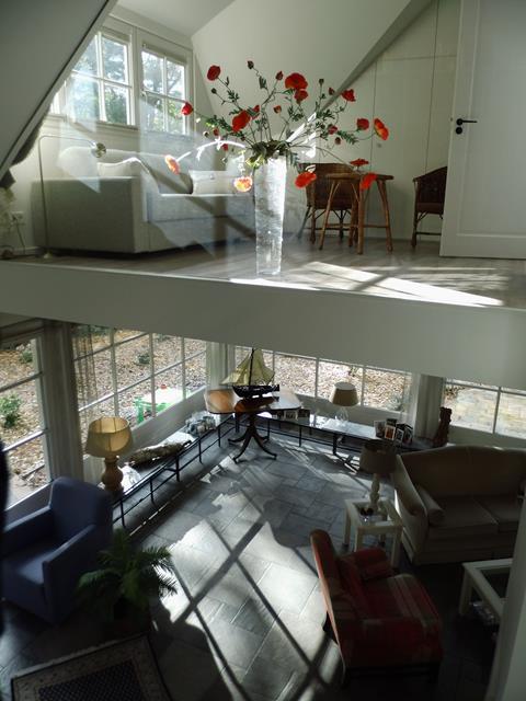 villa met verschillende verdieping