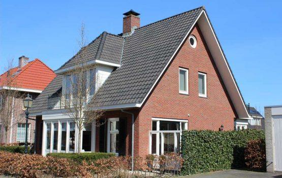 bouw vrijstaande woning in dronten door aannemersbedrijf wielink