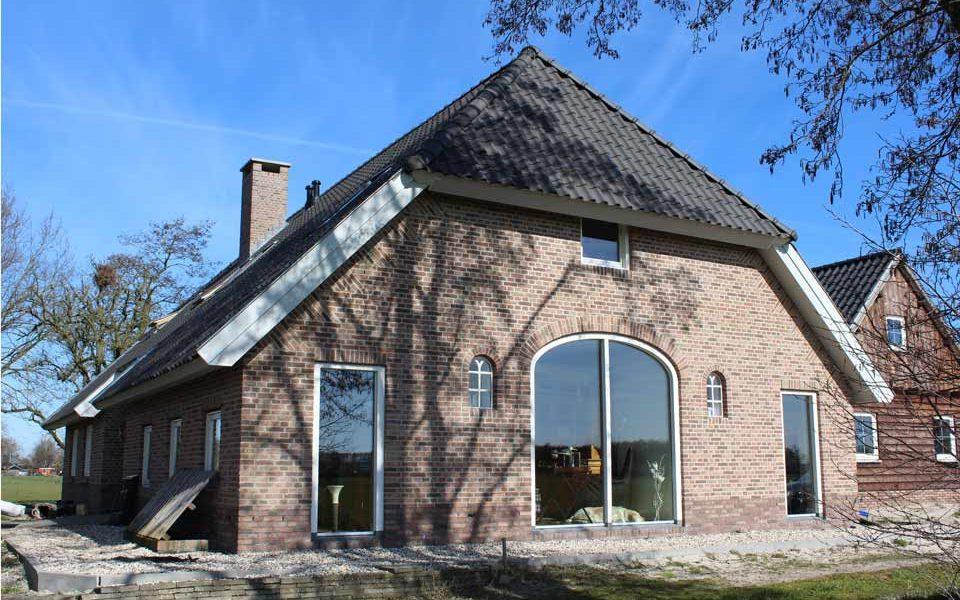 woonboerderij laten bouwen door aannemersbedrijf Wielink