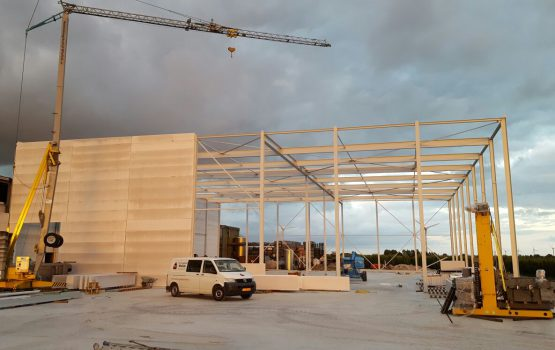 utiliteitsbouw in Barneveld door aannemersbedrijf Wielink