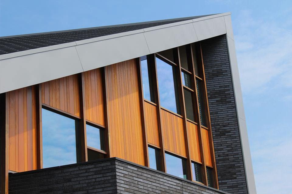 Bouw van moderne villa in zwolle door aannemersbedrijf for Moderne bouw