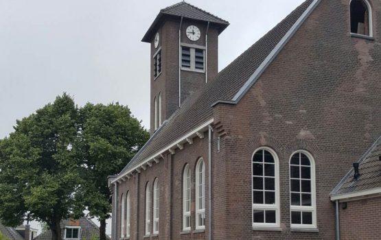 Restauratie van kerk in purmerland door aannemersbedrijf wielink