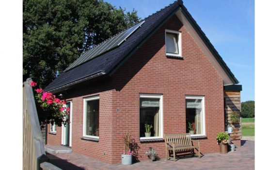 Bouw van energie neutrale woning in Doornspijk door aannemersbedrijf Wielink