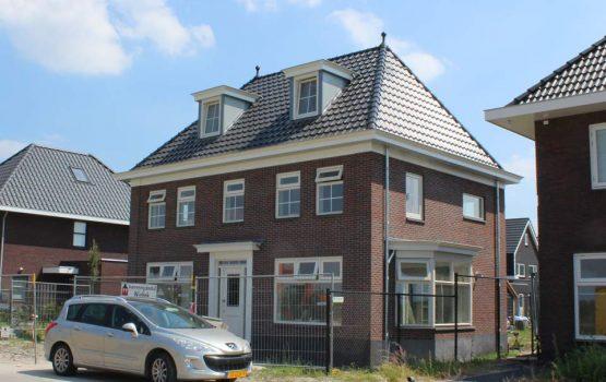 herenhuis bouwen in dronten, herenhuis gebouwd door aannemersbedrijf Wielink