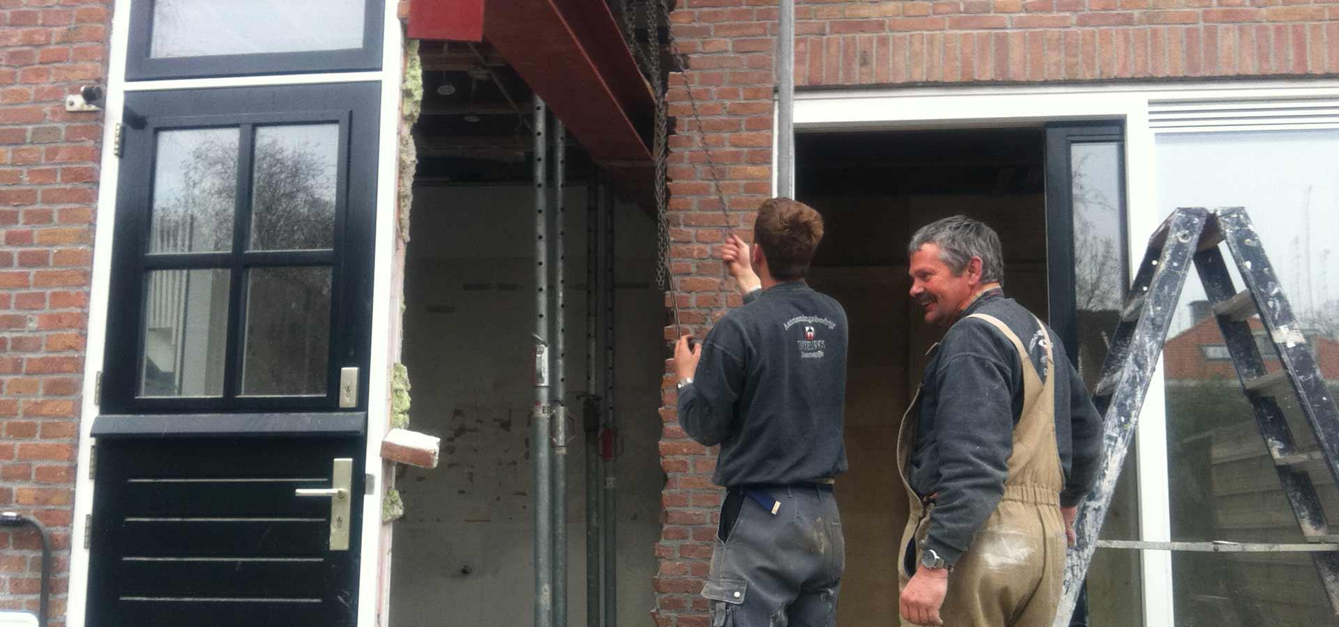 arendjan Wielink van bouwteam aannemersbedrijf wielink
