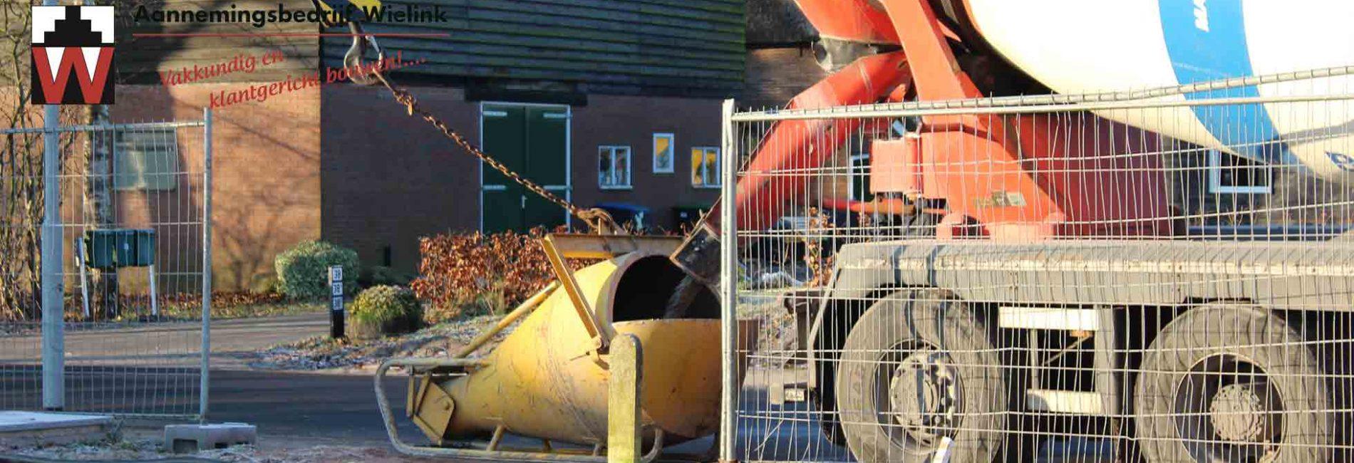 betonvloer laten storten door aannemersbedrijf wielink