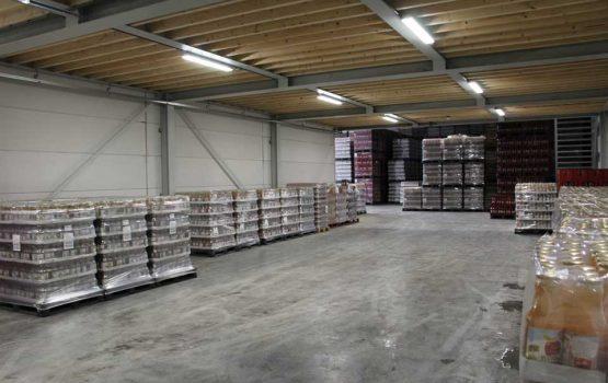bouw productiehal biddinghuizen door aannemersbedrijf wielink uit elburg