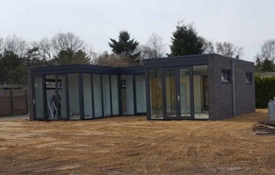 bouw van recreatiewoning met kelder in ermelo - onderkelderde woning bouwen - kelderbouw aannemersbedrijf Wielink