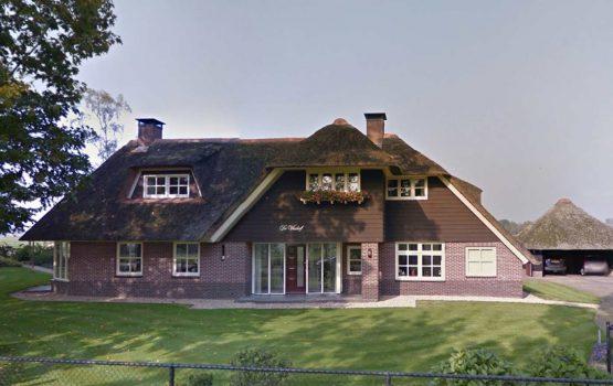rietgedekte villa bouwen met aannemersbedrijf Wielink