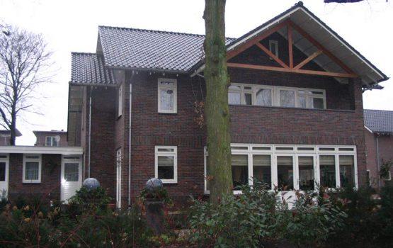 Bouwen van modern herenhuis door aannemersbedrijf Wielink