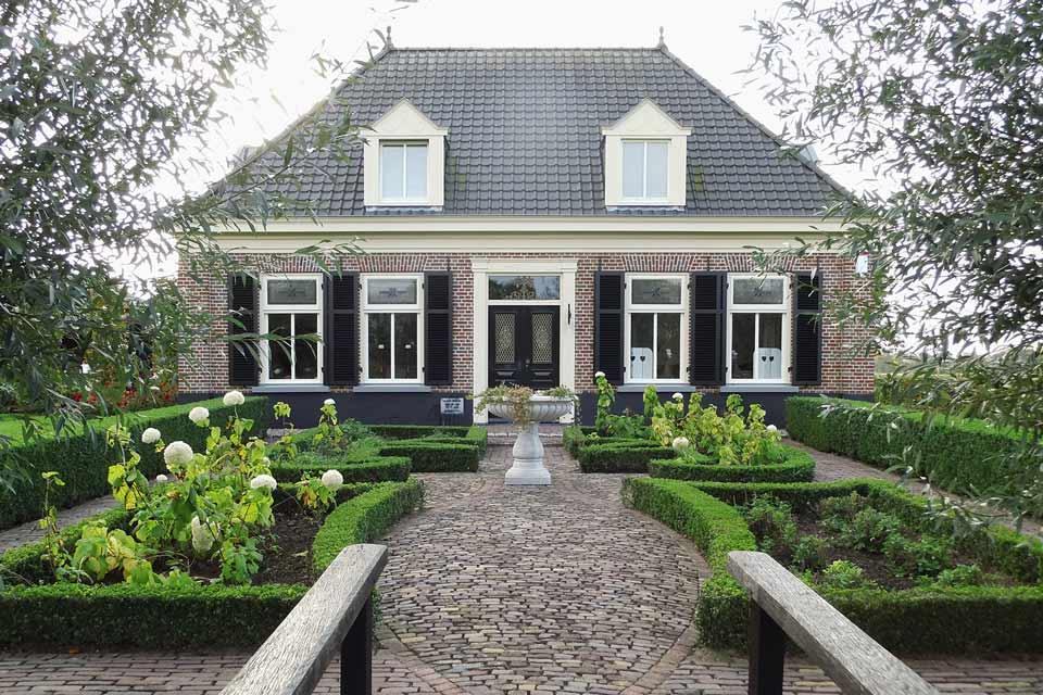 detail bouw landelijke woning door aannemersbedrijf Wielink