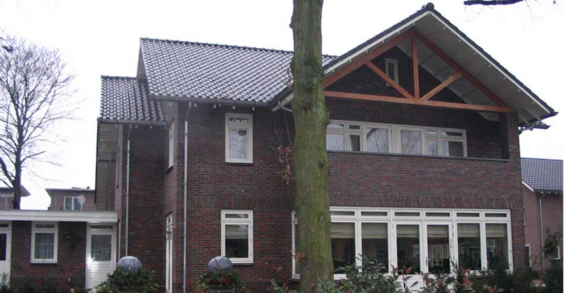 modern herenhuis laten bouwen door aannemersbedrijf Wielink