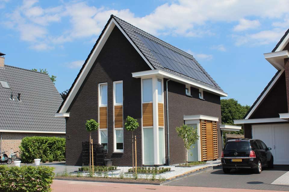 Woningbouw aannemersbedrijf wielink - Huis modern kubus ...