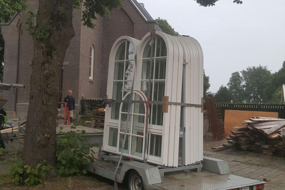 verbouwen en restauratie van kerk in purmerland door aannemersbedrijf wielink
