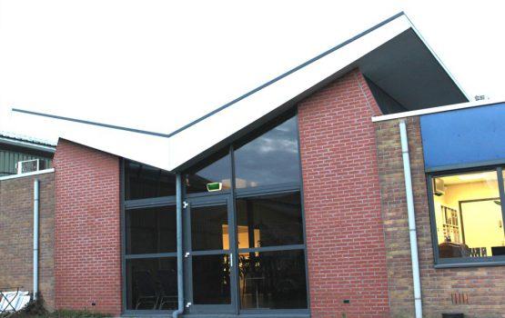 bouw van kantoor door aannemersbedrijf wielink in elburg