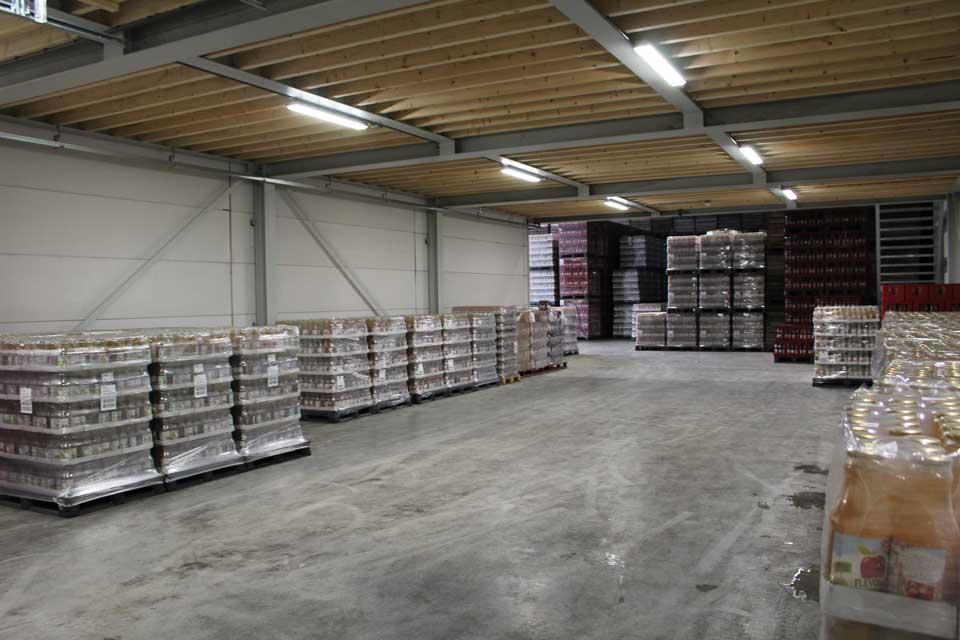 bouw van productiehal / bedrijfshal in biddinghuizen door aannemersbedrijf wielink uit elburg