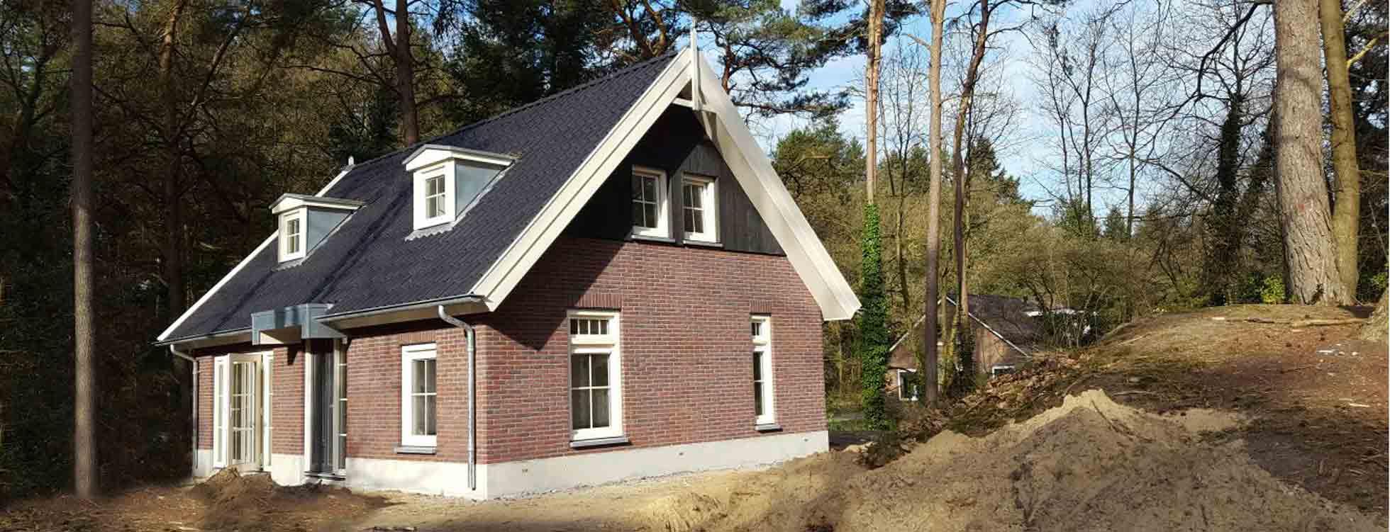 bouw vakantiehuis / recreatiewoning in Nunspeet door Aannemersbedrijf wielink