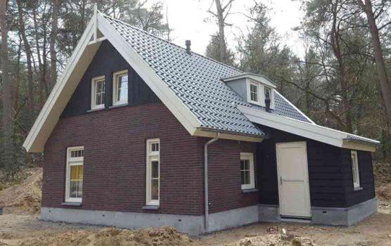 bouw vakantiehuisje te nunspeet aannemersbedrijf Wielink