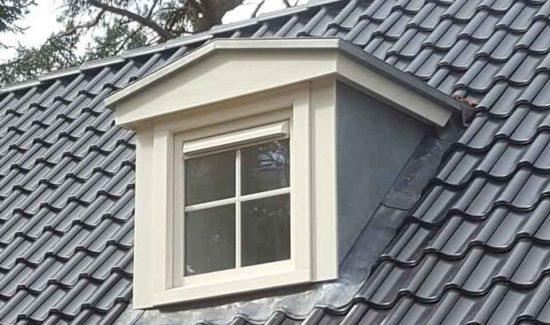 dakkapel op recreatiewoning te nunspeet aannemersbedrijf WIelink