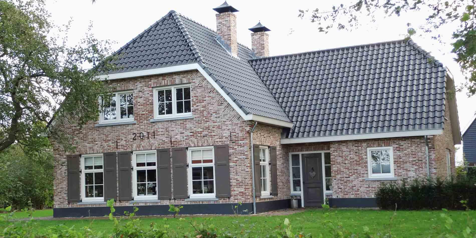 Bouw vrijstaande woning met wolfskap in ermelo - Aannemersbedrijf Wielink