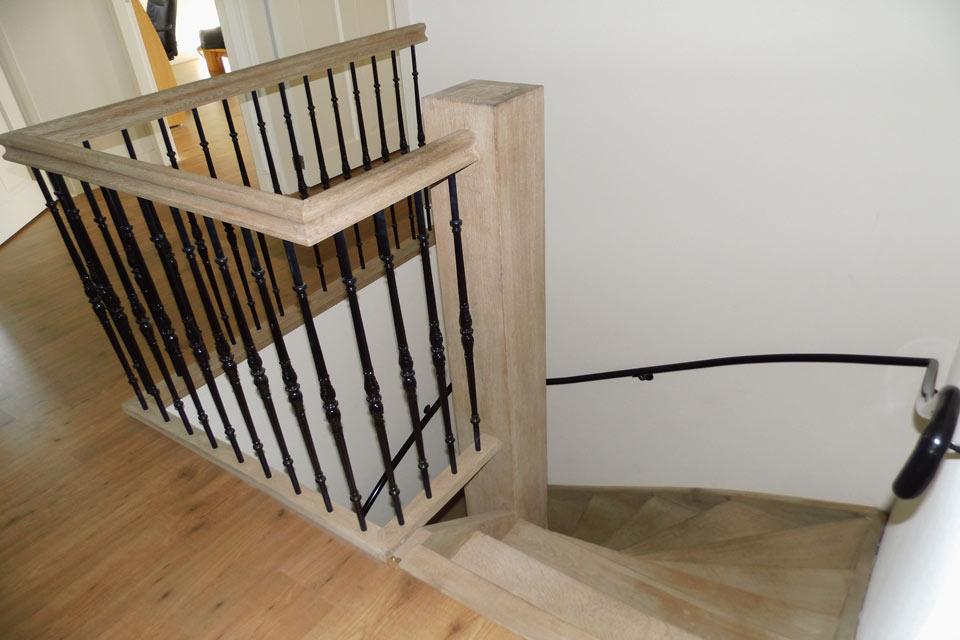 eikenhouten trap - eiken trap - eiken trappen - trap van eikenhout