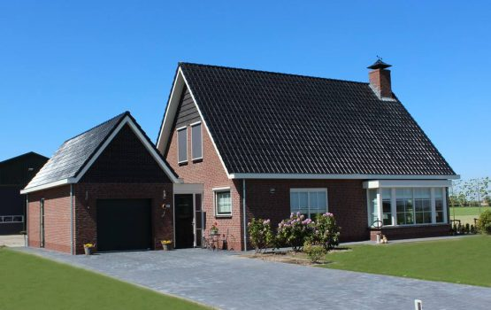 bouw van vrijstaande woning - vrijstaand huis in Kamperveen (gemeente kampen) door aannemersbedrijf Wielink