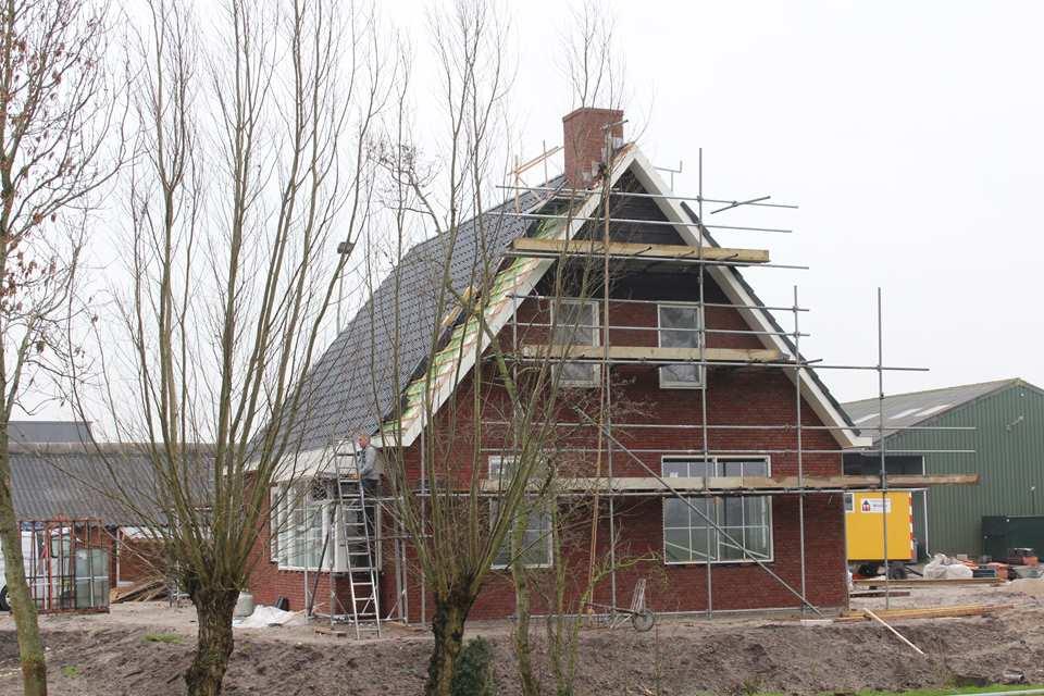Noodwoning vervangen voor een vrijstaande woning in Kamperveen door aannemersbedrijf Wielink uit Doornspijk