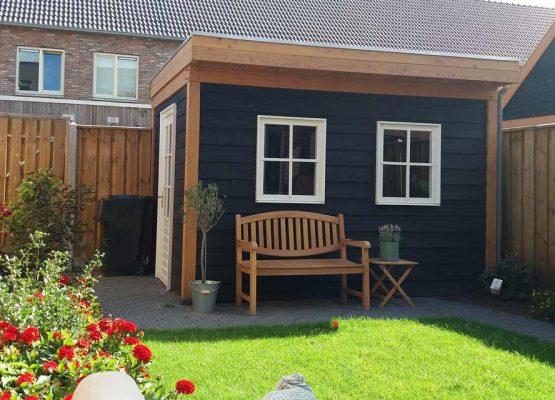 aannemersbedrijf Wielink bouw douglas tuinhuis of bergingen voor uw op maat