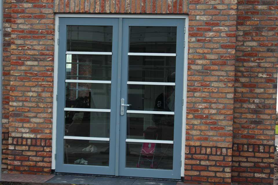 dubbele deuren in woning jaren 30 stijl