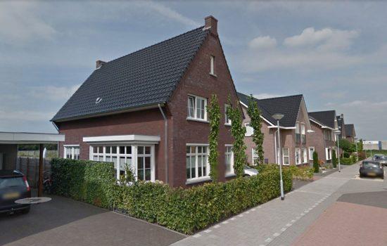 bouw van vrijstaande woning in Wezep
