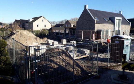 aannemersbedrijf wielink is in wezep gestart met de bouw van een vrijstaande woning