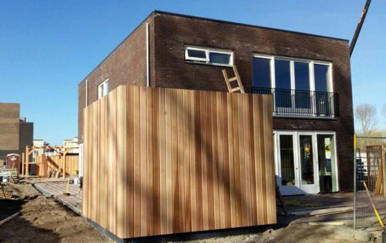 bouw-van-moderne-kubus-woning-in-almere