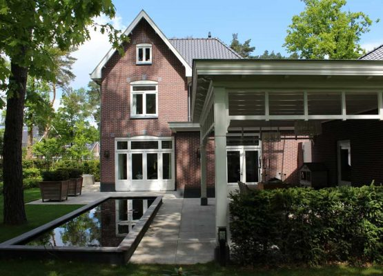 Exclusieve klassieke houten aanbouw veranda overkapping (3)