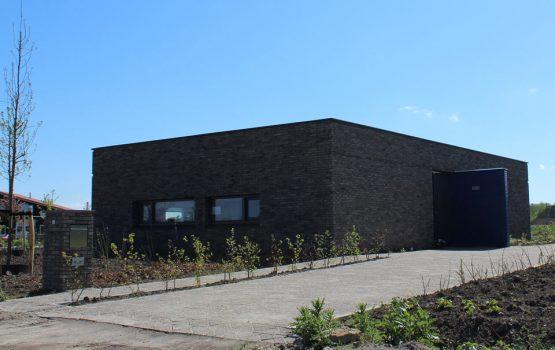Bouw van moderne kubus vrijstaande woning op Oosterwold in Almere