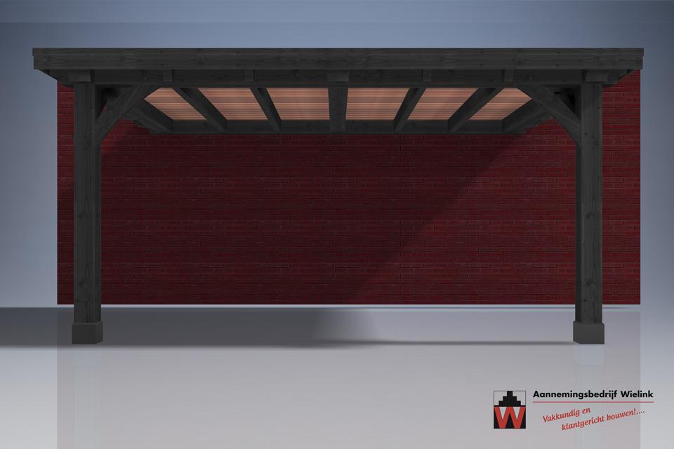 carport op maat - aanbouw carport- carport met schuur - carport bouwpakket - Douglas of eiken carport (1)