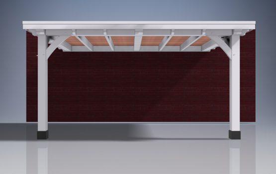 carport op maat - carport met schuur - carport bouwpakket - Douglas of eiken carport (1)