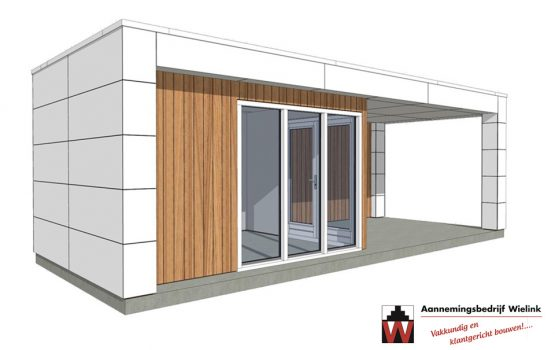 Exclusieve houtbouw - ontwerp modern poolhouse - Poolhouse modern prijzen - Prijs voor modern poolhouse (7)