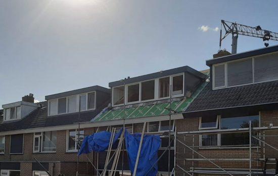 Verbouwing van tussenwoning in Harderwijk - Dakrenovatie met plaatsen dakkapel in harderwijk