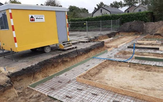 bouwen van vrijstaande woning in wezep (gemeente oldebroek) door aannemersbedrijf Wielink - bouwbedrijf wielink