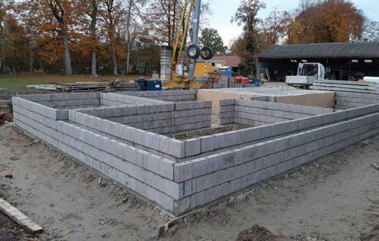bouw vrijstaande woning / vrijstaand huis met kelder in Oldebroek