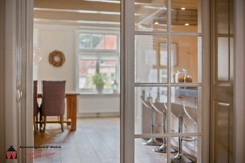 Restauratie oud gebouw in Harderwijk - Binnen ramen en deuren aannemersbedrijf Wielink elburg
