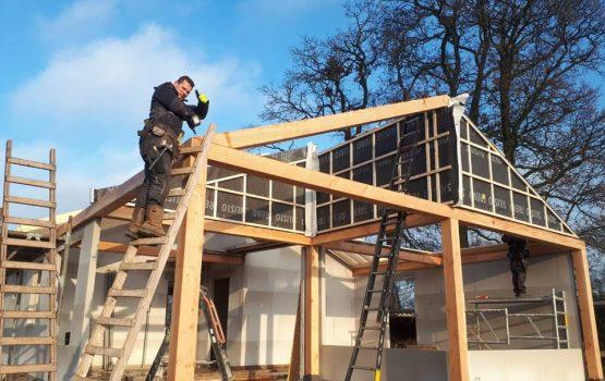 Houtskeletbouw woning - houten huis - exclusieve houtbouw aannemersbedrijf - bouwbedrijf Wielink - Prefab houten huis bouwen (15)