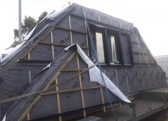 Houtskeletbouw woning - houten huis - exclusieve houtbouw aannemersbedrijf - bouwbedrijf Wielink - Prefab houten huis bouwen (19)