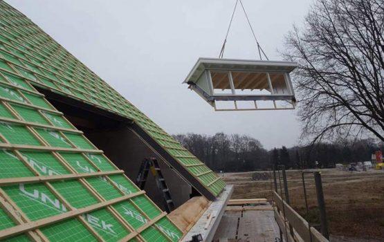 Houtskeletbouw woning - houten huis - exclusieve houtbouw aannemersbedrijf - bouwbedrijf Wielink - Prefab houten huis bouwen (3)