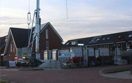 bouw van vrijstaande woning in wezep door bouwbedrijf Wielink uit Elburg